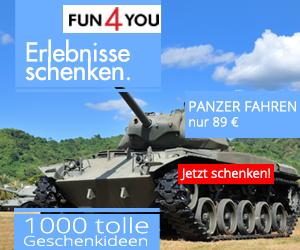 Erlebnisgeschenk Panzer fahren