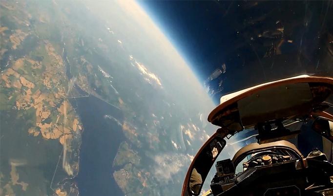Stratosphärenflug mit der MIG