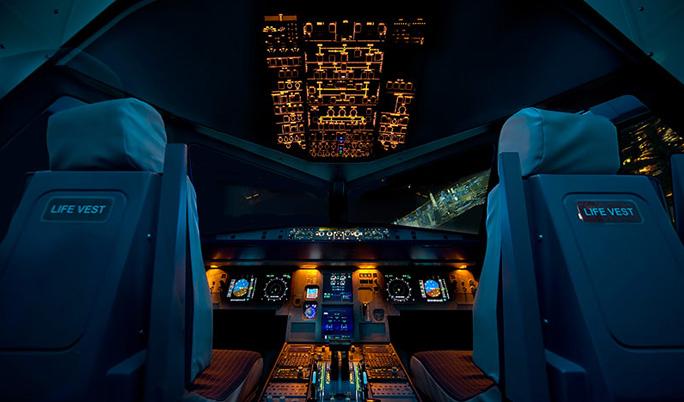 Flugsimulator Airbus für 30 Minuten in Bonn