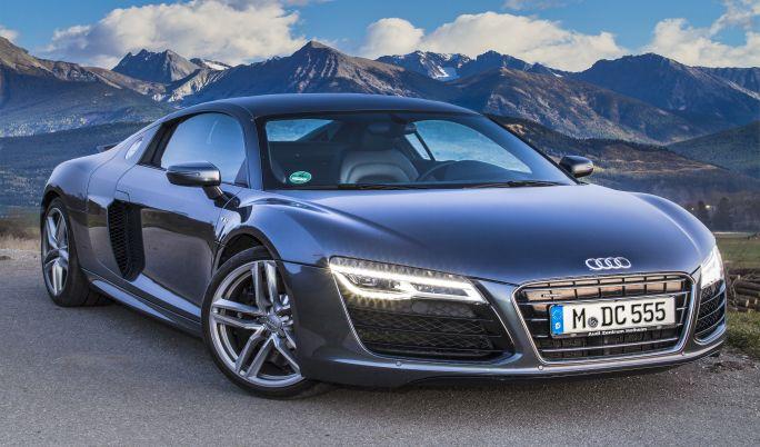 Audi R8 V10 mieten - 1 Stunde