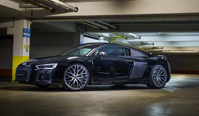 Audi R8 V10 Plus mieten