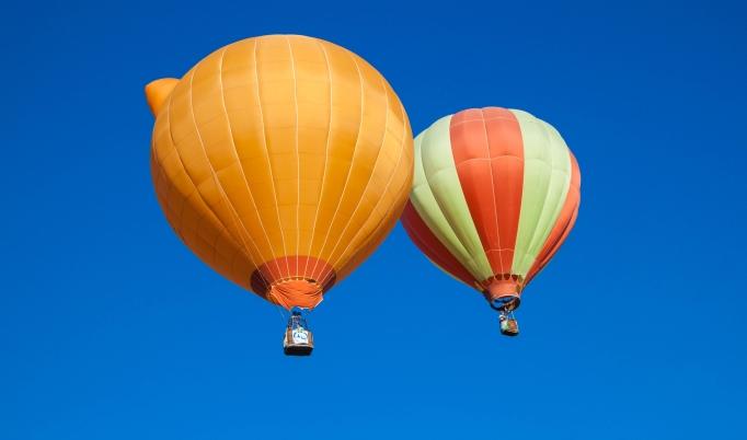 Ballonfahrt über Erfurt