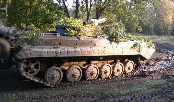 Panzer fahren in Steinhöfel