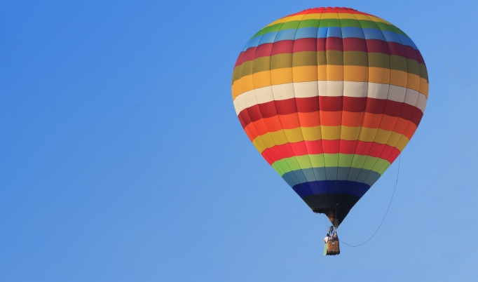 Exklusive Ballonfahrt zu zweit