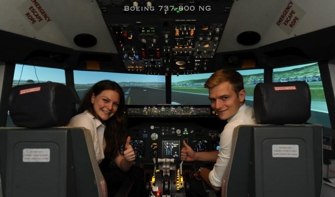 Flugsimulator Boeing 737 - 60 Minuten