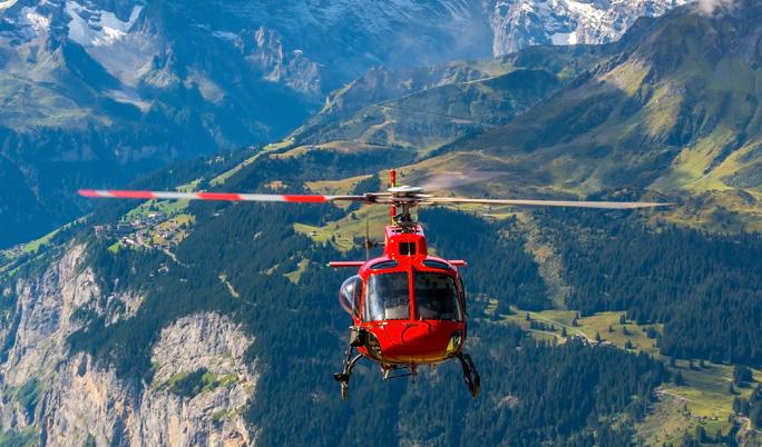 Hubschrauber Rundflug für Drei in München