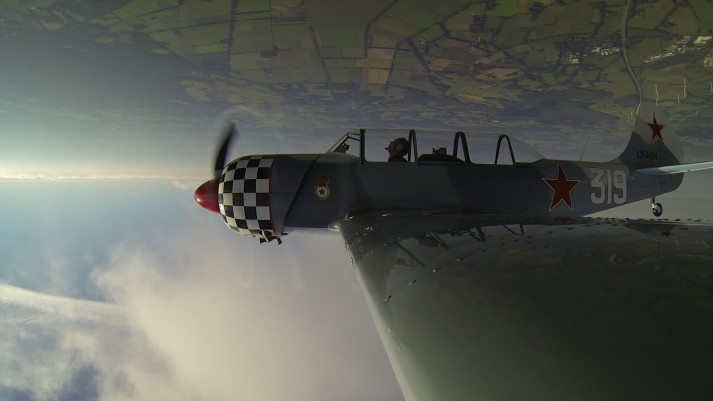Kunstflug YAK 52 in Oldenburg
