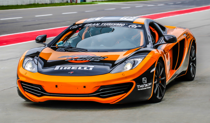 McLaren MP4-12C Rennstreckentraining