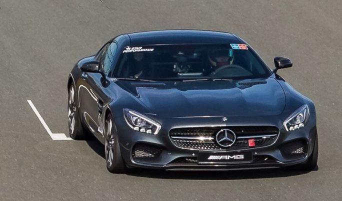 Mercedes AMG Renntraining