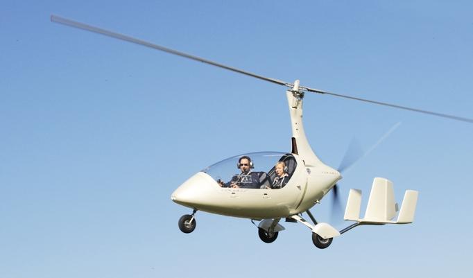 Gyrokopter Rundflug