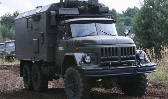 Militär Truck Trial in Mahlwinkel