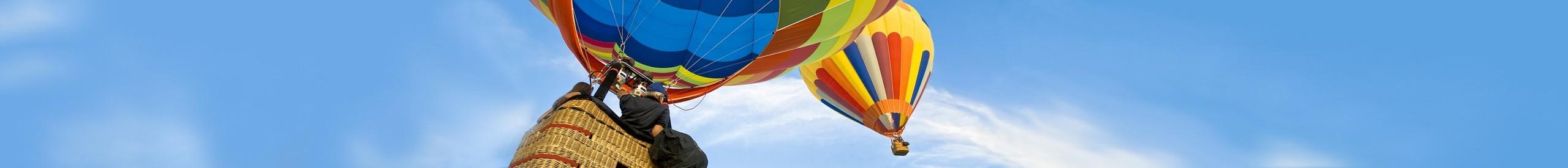 Rundfahrt im Heißluftballon