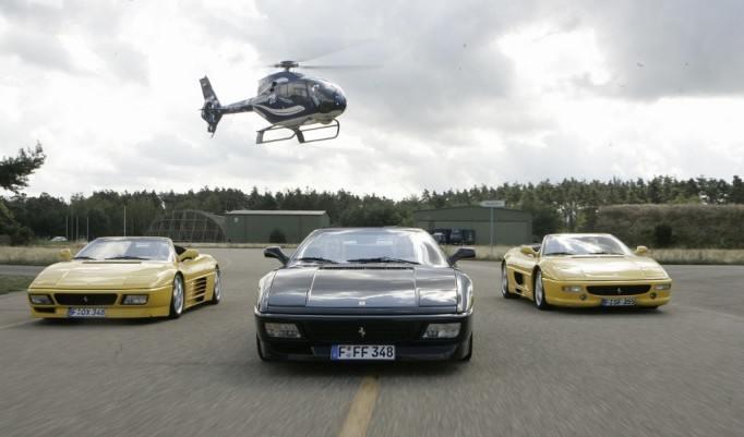 Ferrari Rennwagen selber fahren
