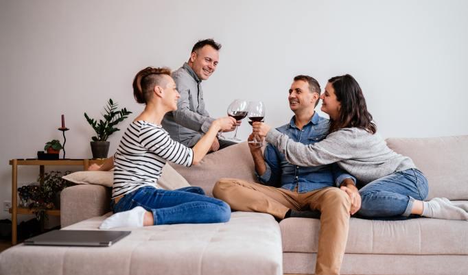 Wein- und Genusspaket Wohnzimmerkonzert