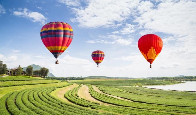 Gutschein für Heißluftballonfahrt in Lichtenfels und Region kaufen