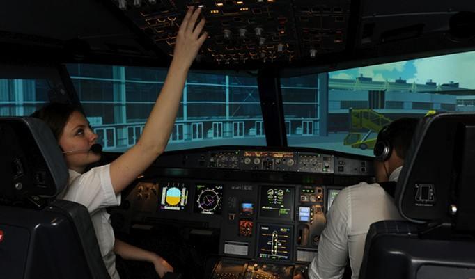 Guteschein für 30 Minuten im Flugsimulator Airbus A320 in Dresden