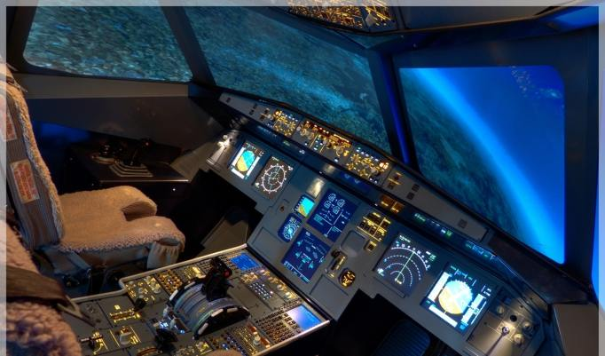 Guteschein für 30 Minuten im Flugsimulator Airbus A320 in Berlin