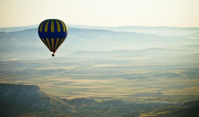 Ballonfahrt in Korbach