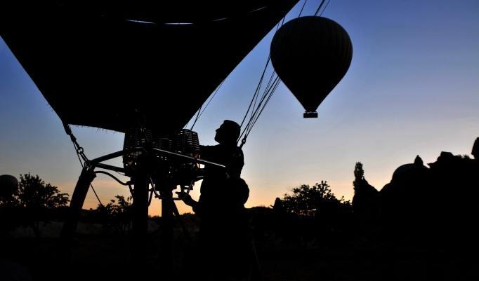 Ballonfahrt für vier