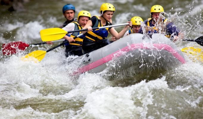 Rafting in Bad Tölz