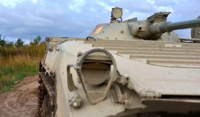 Panzer fahren Dobbin-Linstow