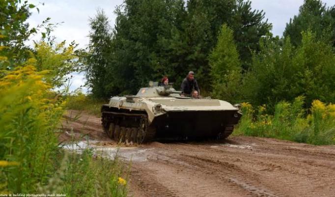 Panzerfahrt in Dobbin-Linstow
