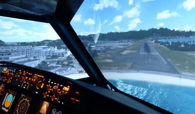 Airbus A320 fliegen Frankfurt