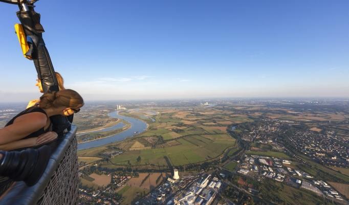 Ballonfahren in Kiel