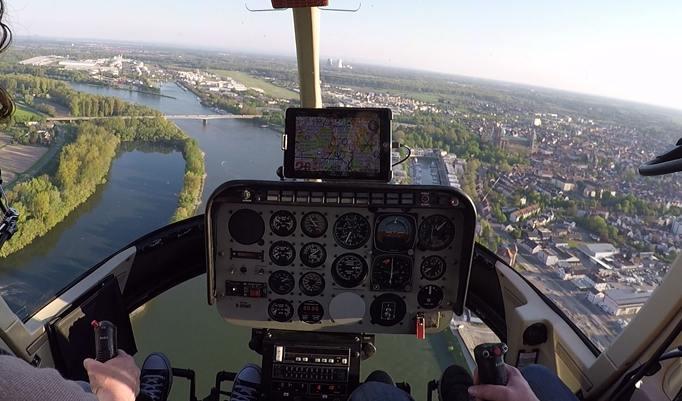 Hubschrauber selber fliegen in Trier