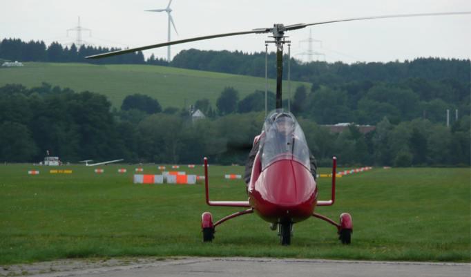 Gyrocopterflug auf die Ostfriesischen Inseln