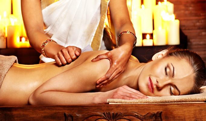 duftende Ayurveda Massage