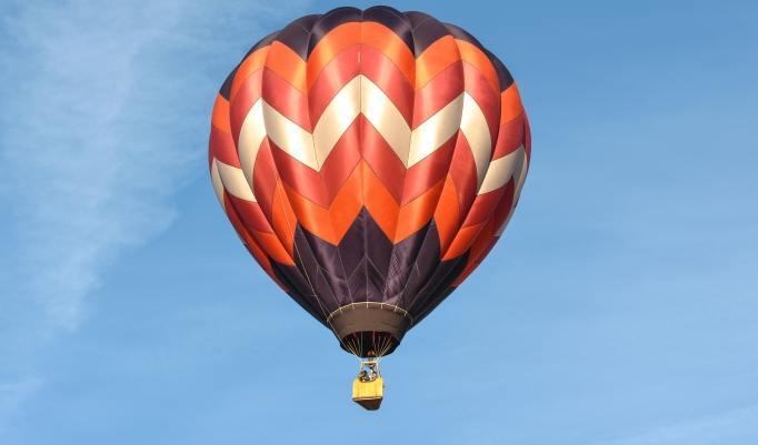 Ballonfahrt auf Rügen