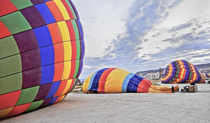 Heißluftballonfahrt in Güstrow