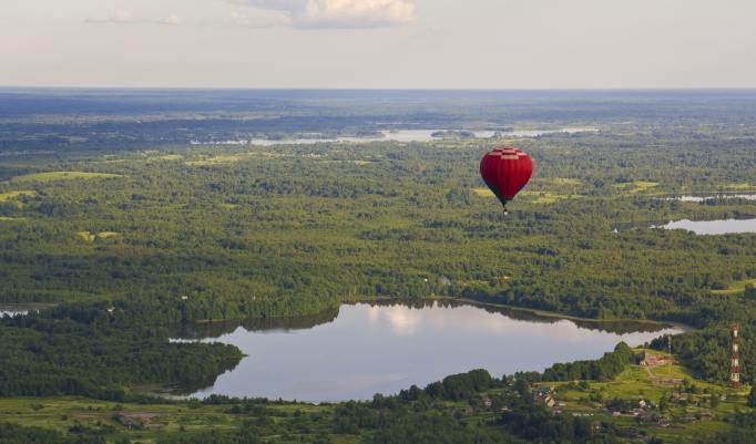 Heißluftballonfahrt Geschenk Rendsburg