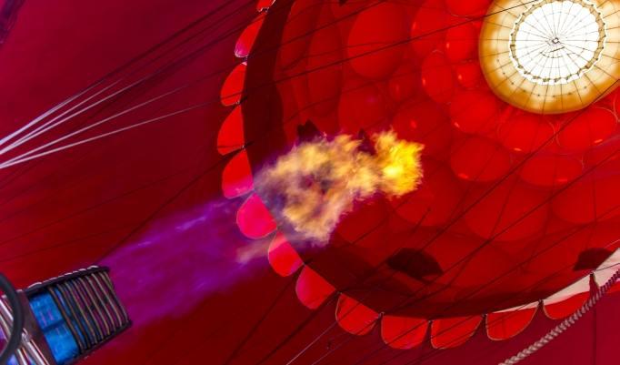 Heißluftballonfahrt in Neu-Anspach