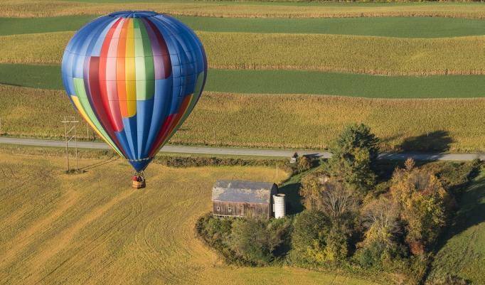 Ballonfahrt für Zwei in Rostock