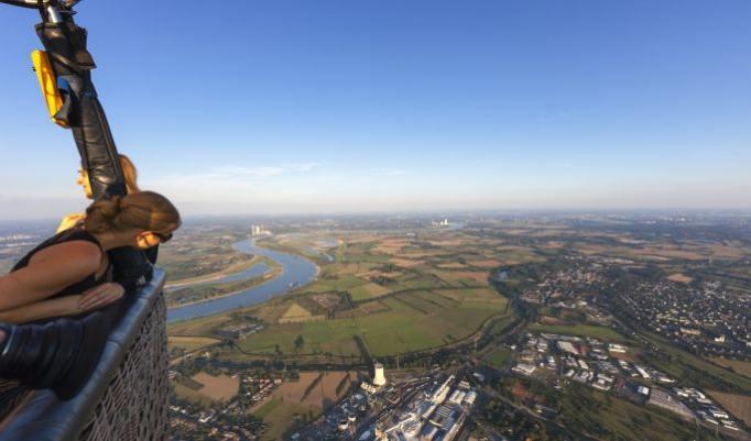 Gutschein für Heißluftballonfahrt in Duisburg