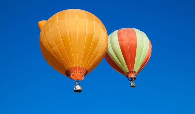 Gutschein für romantische Ballonfahrt für Zwei in Bayreuth