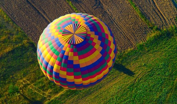 Heißluftballonfahren in der Gruppe