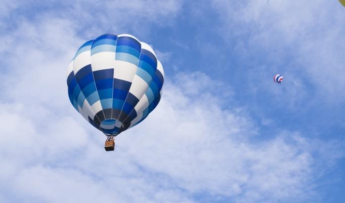 Ballonfahrt am Chiemsee