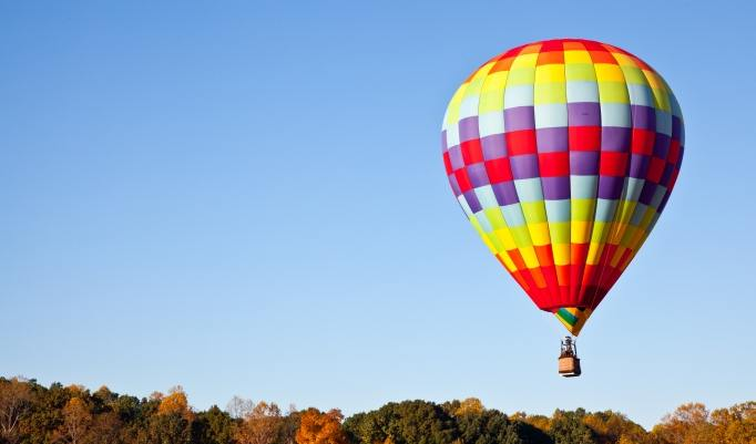 Ballonfahrt in Fürth verschenken