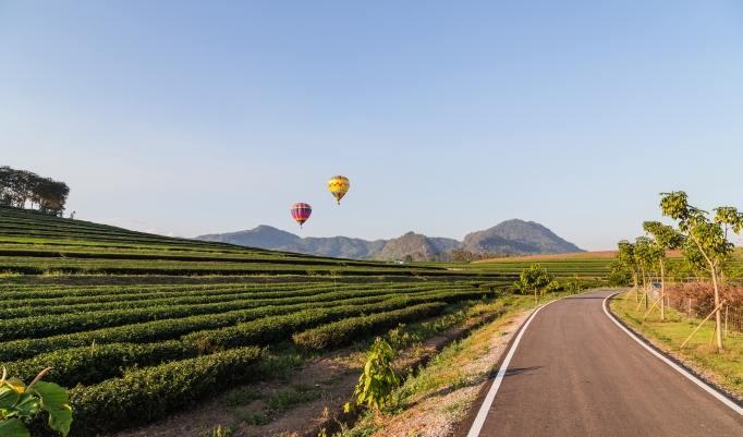 Heißluftballonfahrt in Schmitten