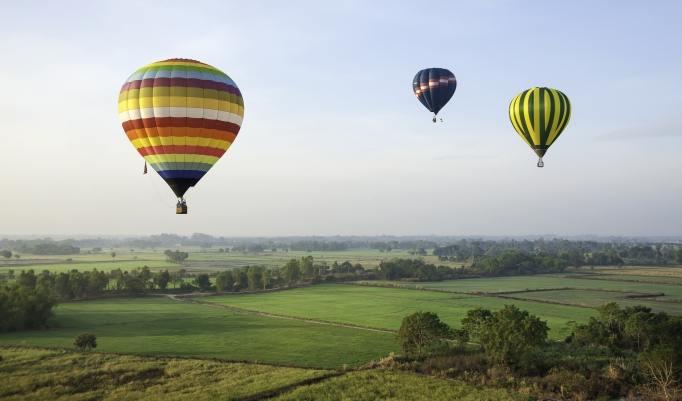 Ballon fahren Winschoten