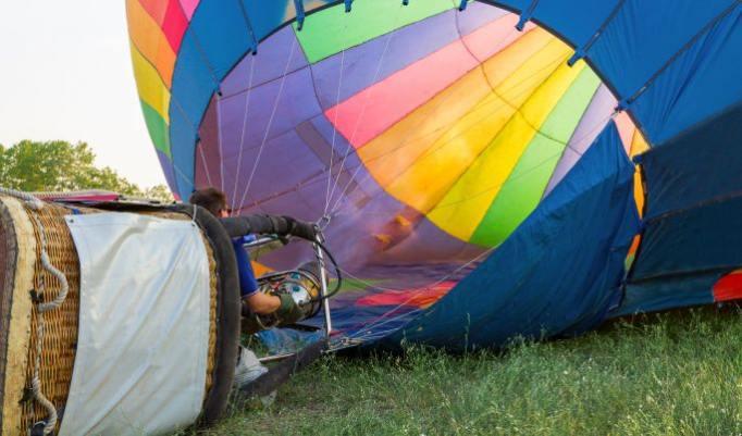 Gutschein für Heißluftballonfahrt in Kamp-Lintfort und Region kaufen
