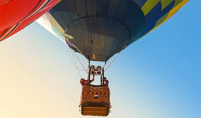 Ballonfahrt in Göppingen und Esslingen
