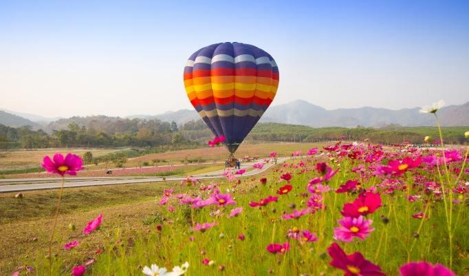 Gutschein für Ballonfahrt in Kulmbach