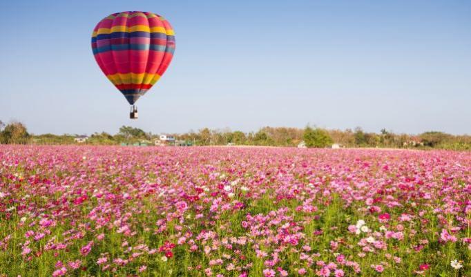 Romantische Ballonfahrt für Paare in Gladbeck Umgebung