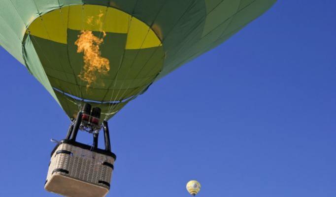 Romantische Ballonfahrt für Paare in Wipperfürth