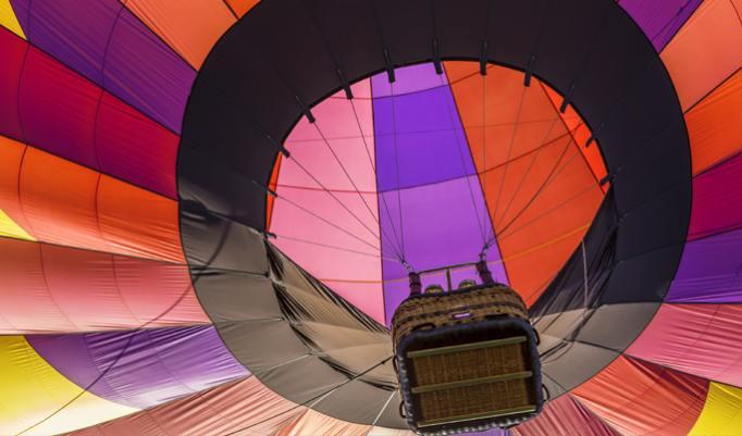 Gutschein zum Heißluftballon fliegen in Kulmbach