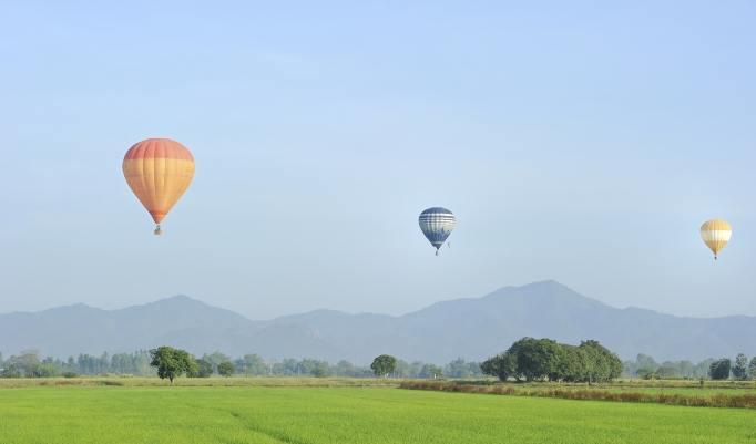 Gutschein zum Heißluftballon fliegen Bad Wörishofen